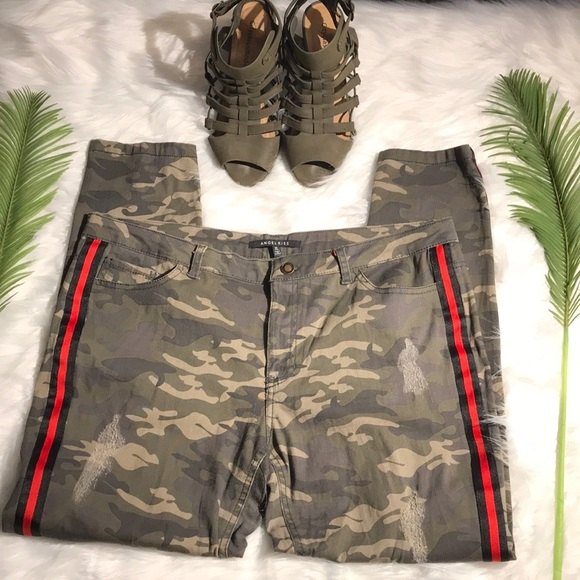 Angel Kiss Pants - ✨Angel Kiss Camouflage Pants
